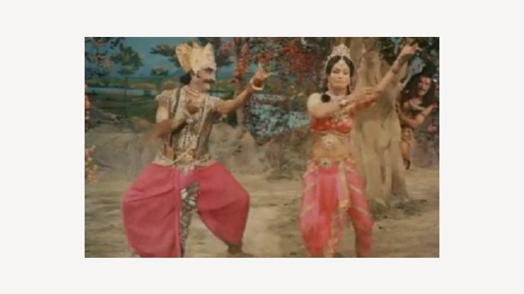 Mohini and Bhasmasura