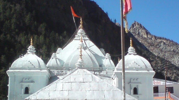 Gangotri Temple Gangotri Temple - Orig...