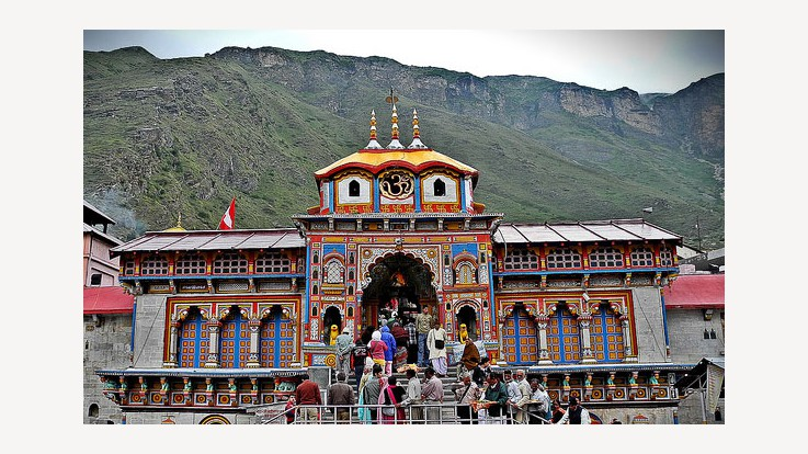 The Badrinath Temple