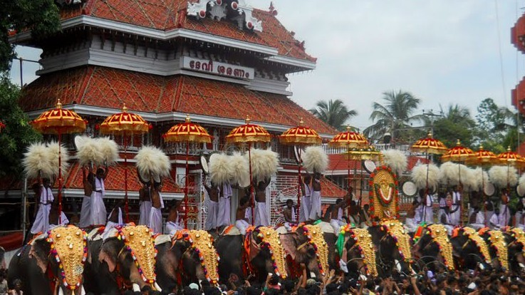Religious city of Kerala-Thrissur
