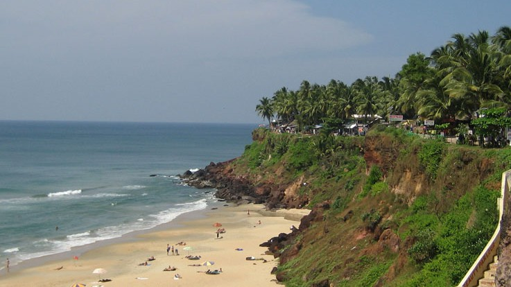 Varkala, A touch of Europe!