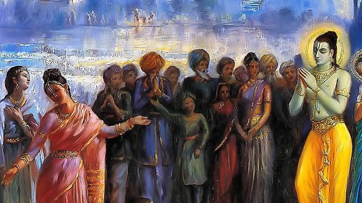Lord Ram returns to Ayodhya