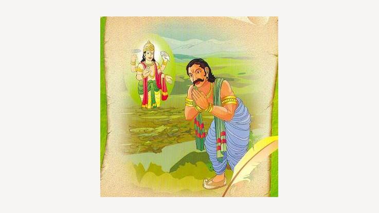 The Story of the Great King Rantideva
