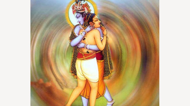 Krishna and Sudama