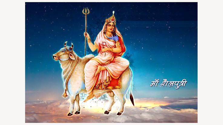 Goddess Shilaputri: 1st day of Navratri