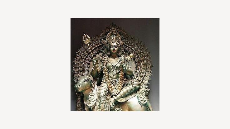 Mother Shilaputri Kolkata Temple Idol