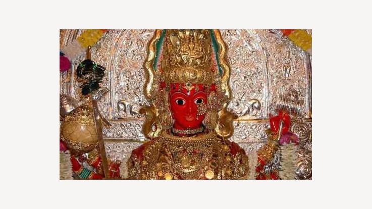 Image of goddess Marikamba