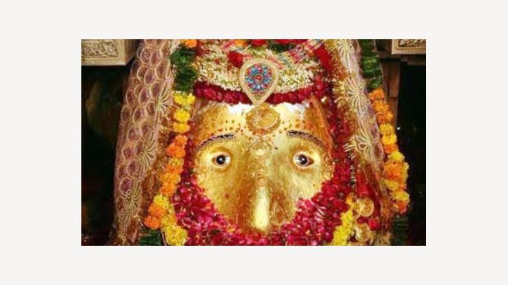 Kalka Devi Idol Image