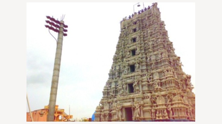 View of Somarama Temple