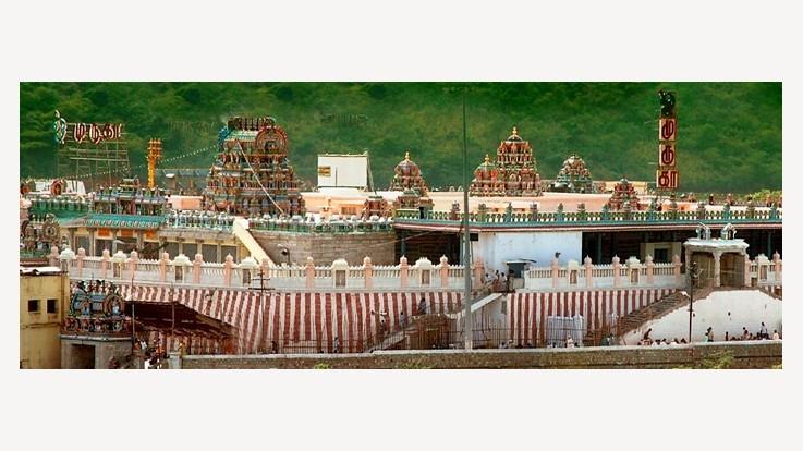 Tiruthani Murugan Temple View