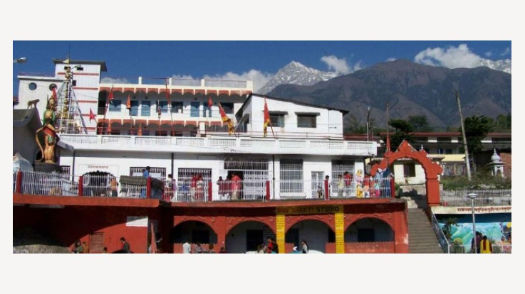 View of Chamunda devi temple