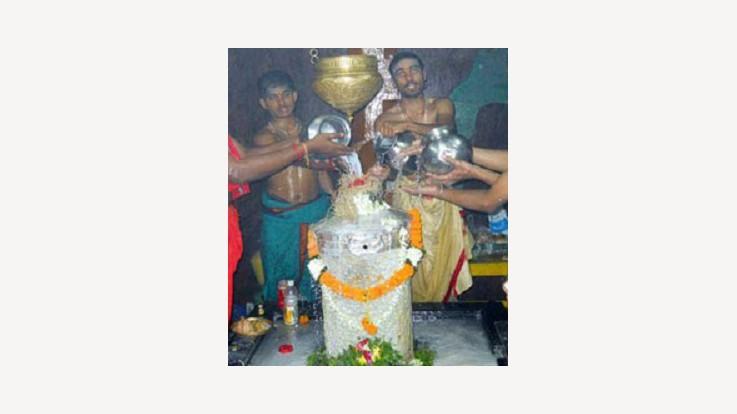 Somarama Temple Lingam