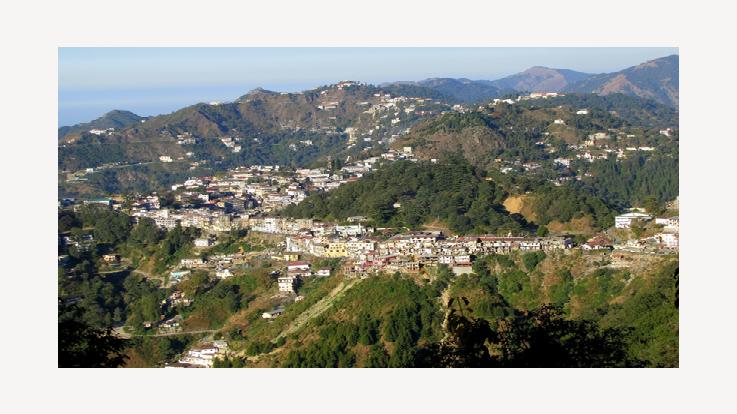 Landour-Welsch town of India