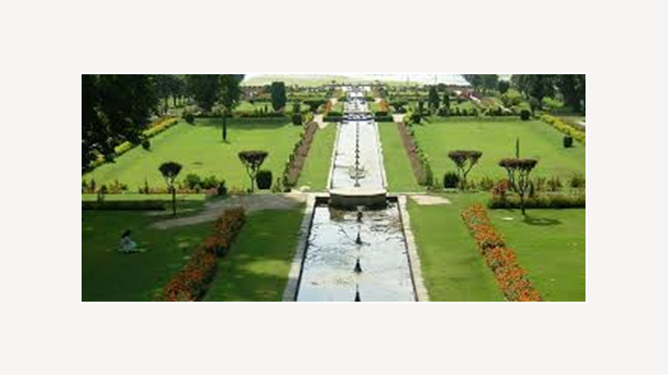 view of Shalimar Bagh