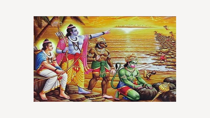 Ramayana :- Lord Rama's preparations to attack