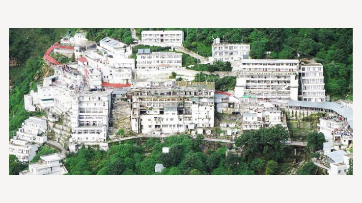 Vaishno Devi Temple Full View