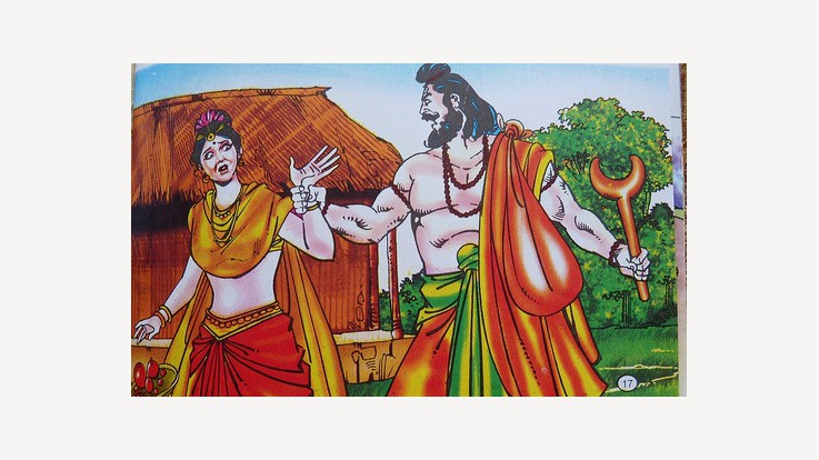Sita haran by Ravana
