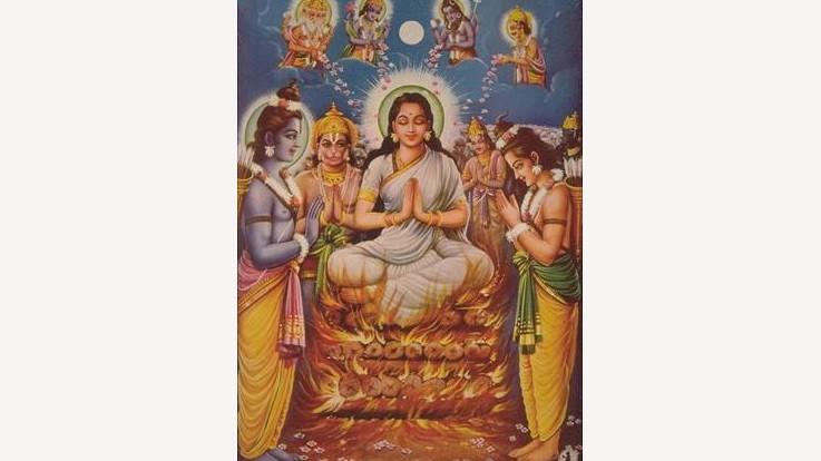 ravanavadh and agni pariksha by sita