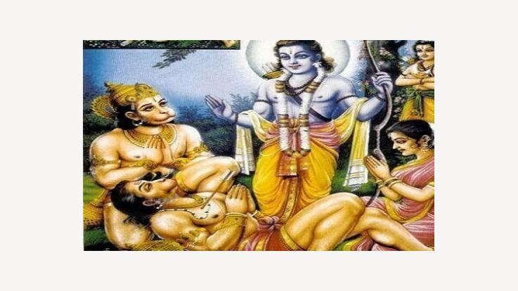 Rama answering Bali