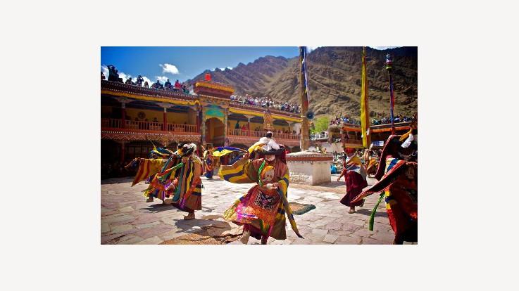 Hempis Gompa Fair Ladakh