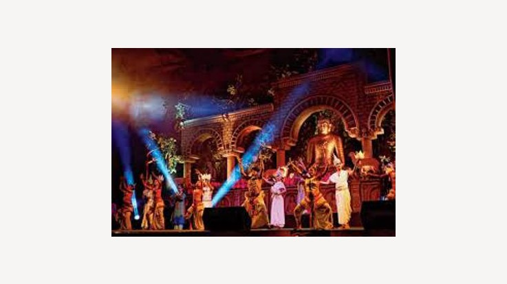 Cultural event during Buddha mahotsav