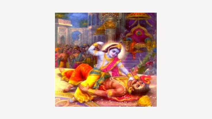 Death of Narkasur