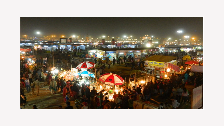 Fair at Evening
