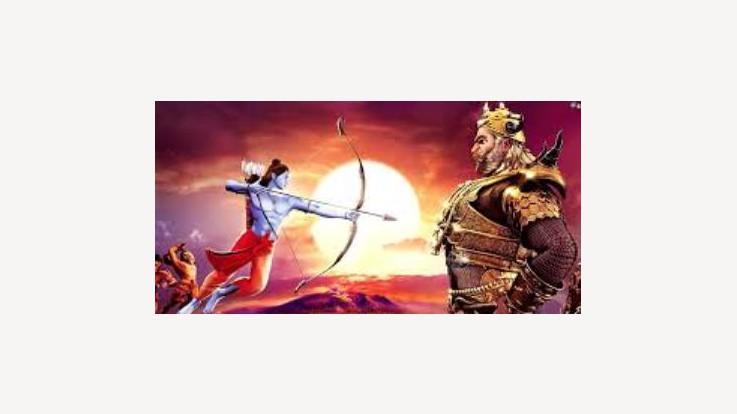 Lord Rama and Ravana
