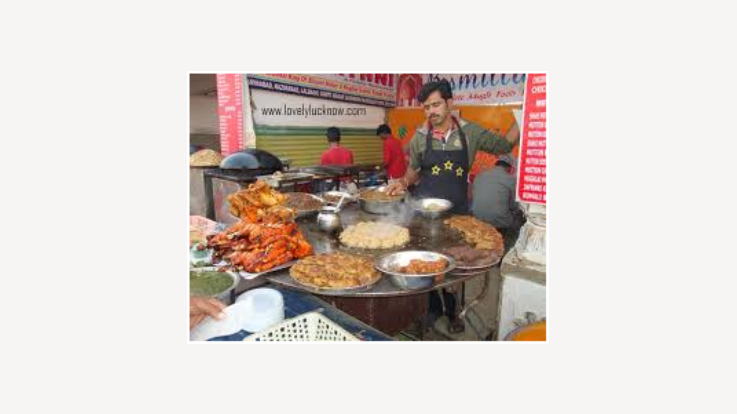 Food stall at Festival