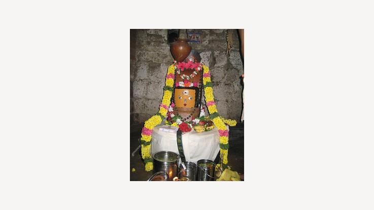 Agneeswarar Temple Idol