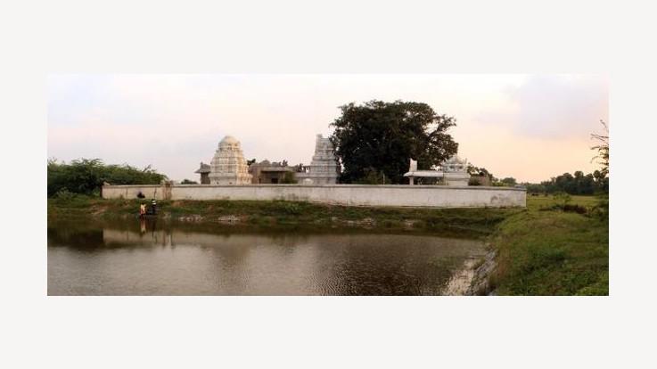 Agneeswarar Temple Wide View