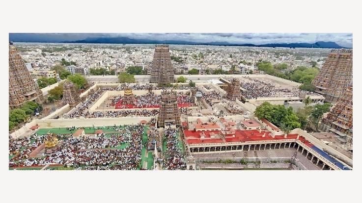 Arulmigu Meenakshi Temple. Madurai, Tamil Nadu