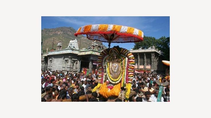 Arunachaleshwarar Fire Temple, Tiruvannamalai, Tamil Nadu