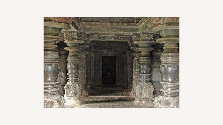 Temple Inner Mantapa