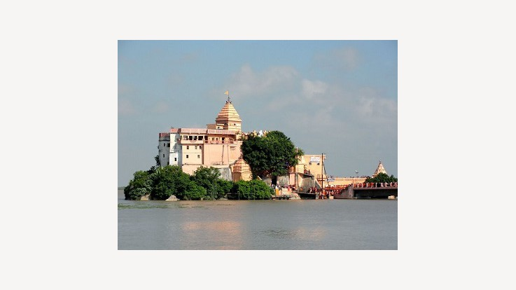 Temple On River Ganga