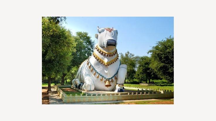 Mahanandi Statue