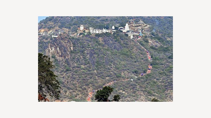 Shivaratri Celebrations Hill View