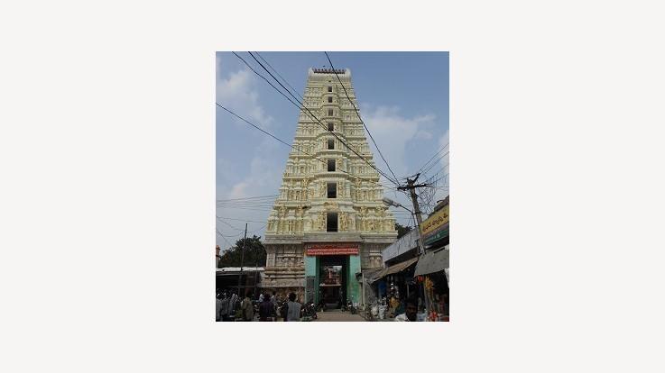 Temple Entranance