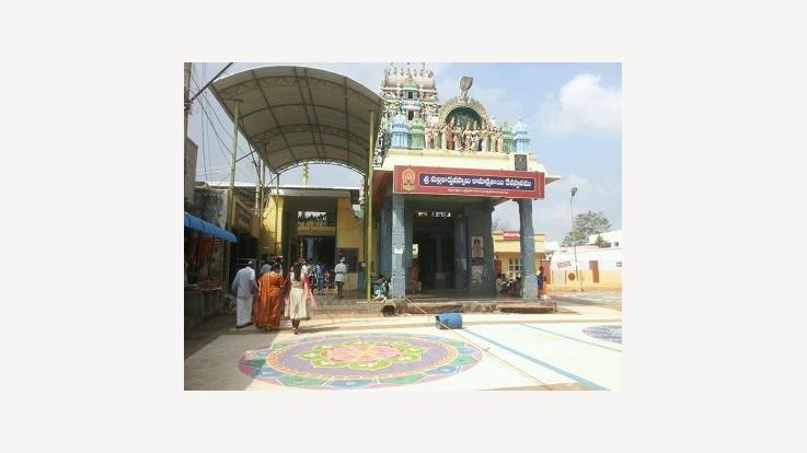 Sri Mallikarjuna Swamy and Kamakshiamma Temple, Jonnawada, Nellore, Andhra Pradesh