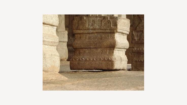 Temple Hanging Column