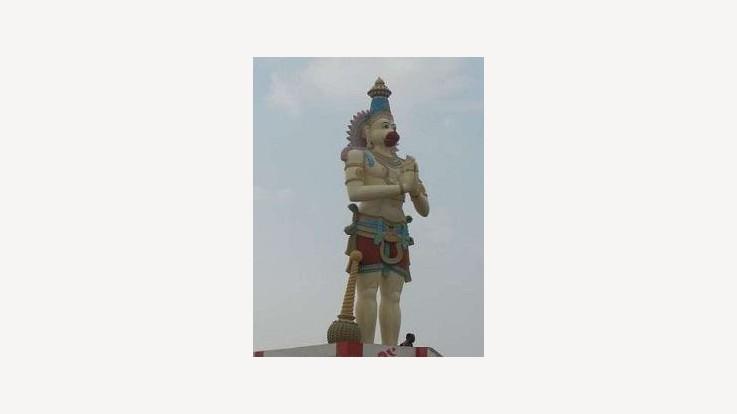 Temple Hanuman Statue