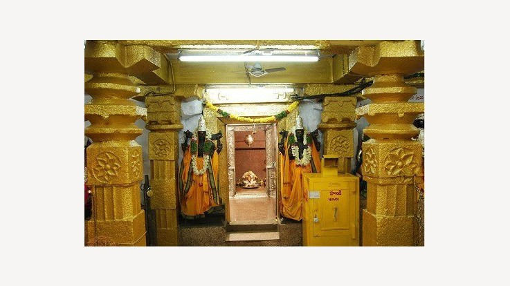 Temple Mandapa
