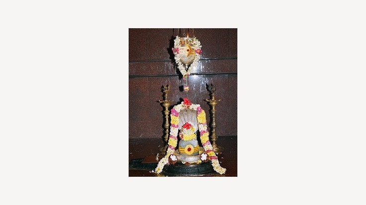 Temple Shiva Lingam