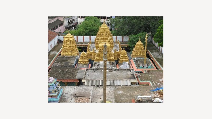 Temple Top View