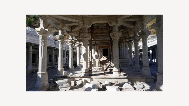 Temple Renovation