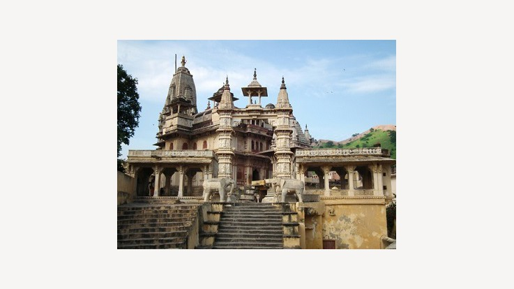 Sri Jagat Shiromani Temple, Amer, Rajasthan