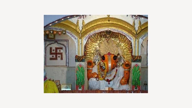 Garh Ganesh Temple, Jaipur, Rajasthan