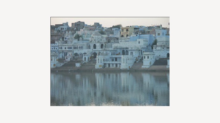 The Famous pushkar lake