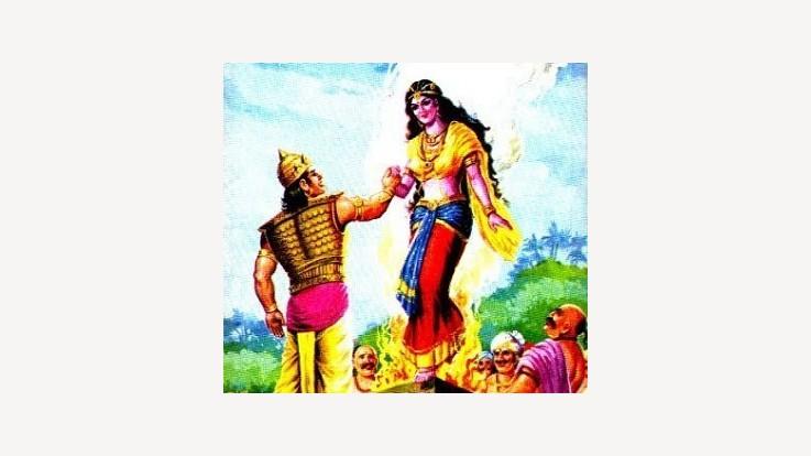 Birth of Draupadi