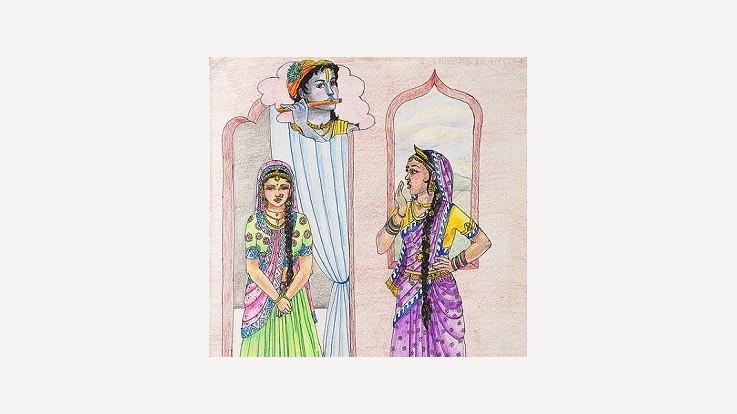 Draupadi and Subhadra